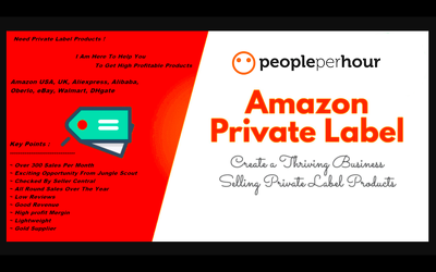 Amazon fba private label product research work