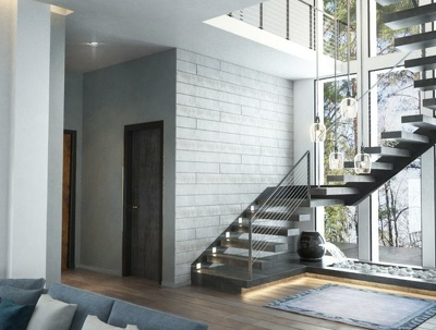 Make a photo-realistic interior render from your plan