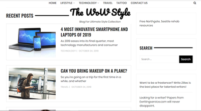 Guest post on Thewowstyle.com Home, Family, Lifestyle site DA 48