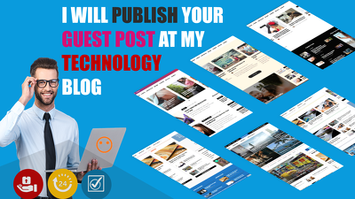 Publish Guest Post on my technical and Moneytalks blog