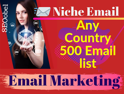 Provide you niche email list
