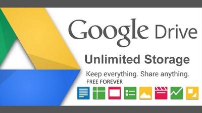 Create Unlimited Google Drive Stroage Account