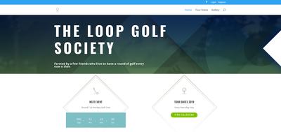 Design a responsive landing page website