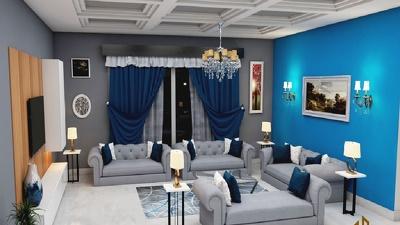 3D interior Design for Home Bedroom, Kitchen, Living room etc