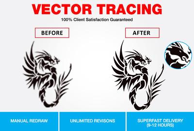 Convert your logo image into vector