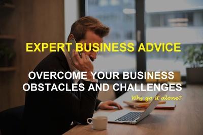 Get 1 hour advice to help you overcome your business challenges