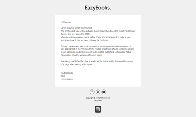 Create animated and full responsive email templates