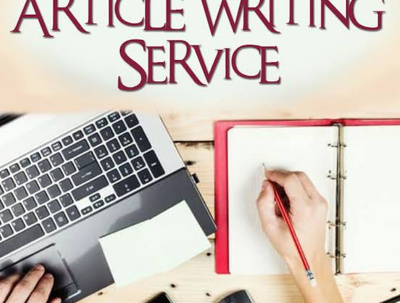 Write an Article of 500 - 600 words on any Niche