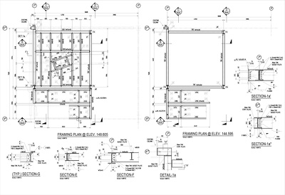 Draw Structural Steel Detailing for Construction