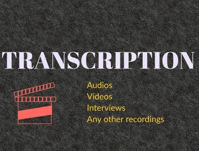 Do a 10 minutes audio or video Transcription
