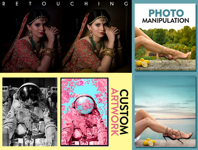 Edit, enhance, Manipulate and retouch your photos professionally