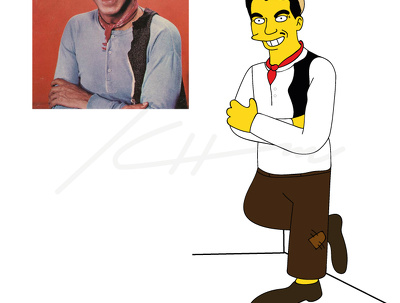 Draw you simpson style