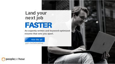 Write you a job-winning CV /Resume with a FREE Cover Letter