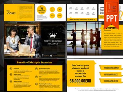 Design A Custom Branded Presentation upto 10 Pages