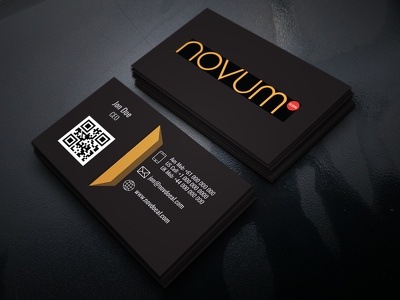 Design minimalist modern business card, visiting card for you