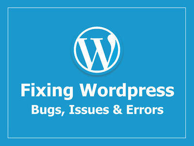 Fix wordpress related issue or bugs