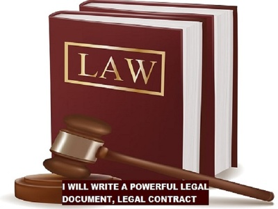 Draft any legal contract/agreement