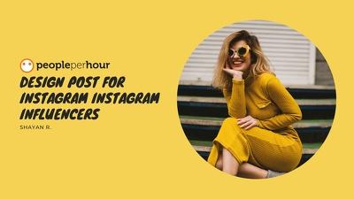 Design Post For Instagram Instagram Influencers
