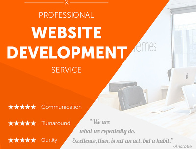 Create and build a complete responsive and functional website