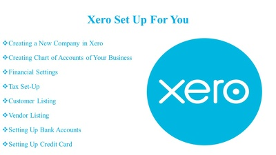Set up  Xero  for you