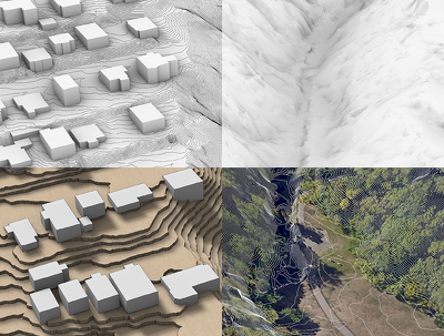 Create a context 3d model of your project site