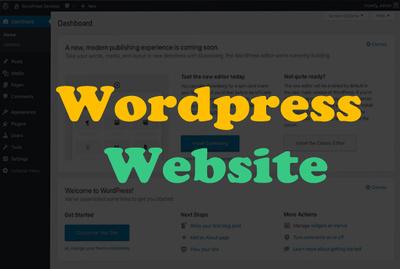 Design wordpress site and wordpress blog