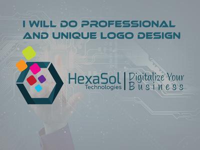 Design a Professional and Unique Logo Design with Source files