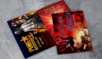 Design creative and modern professional brochures and flyers
