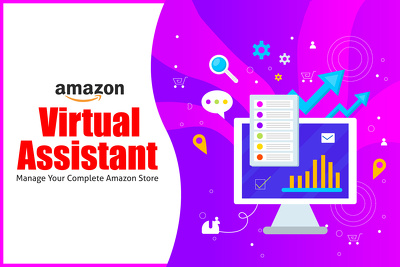 Virtual Assistant Amazon - Manage your complete Amazon Store