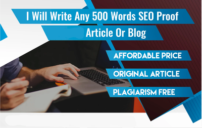 Write a 500 word keyword rich SEO-optimized article or blog post