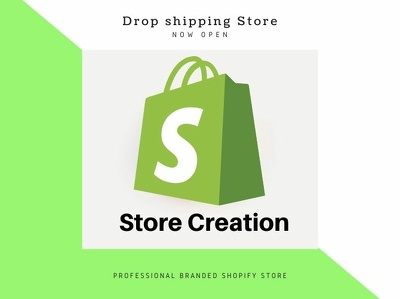 create a shopify dropshipping store with winning products