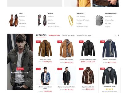 Design responsive ecommerce website