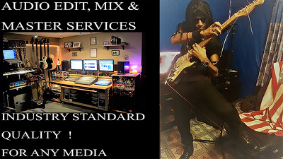 Edit, Mix & Master your Song Industry Standard Quality