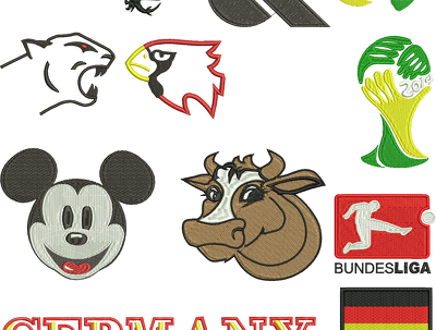 Digitize your logo to embroidery design for your machine