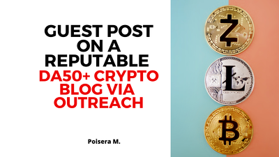 Guest Post on a Reputable Cryptocurrency Blog Via Outreach