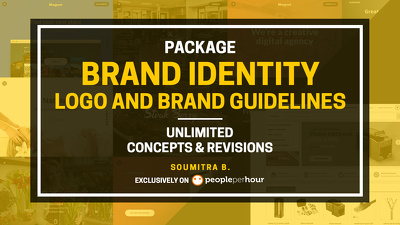 Design Brand Identity Package: Logo and Brand Guidelines