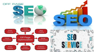 Do off page SEO for a website