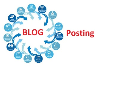 Post your 5 blog  in high traffic web page
