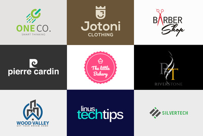 Design your desired logo with unlimited revision , source file