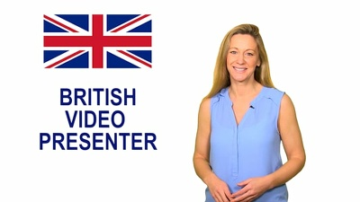 Be your British English Video Spokesperson and Presenter