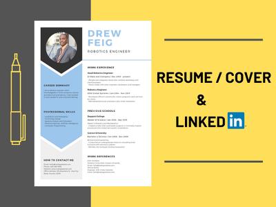 Write Resume/CV , Cover Letter & LinkedIn Profile