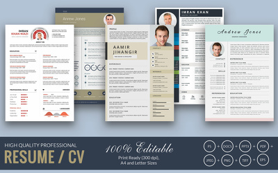 Design Infographic CV/Resume and Cover Letter