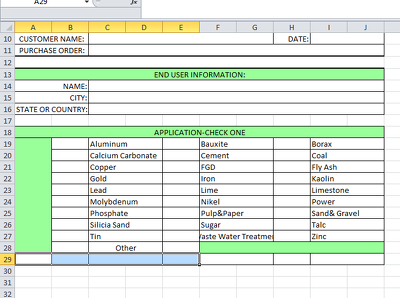 Create and design a Microsoft excel sheet and enter data