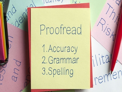 Proofread1100 words for grammar, spelling, punctuation & clarity
