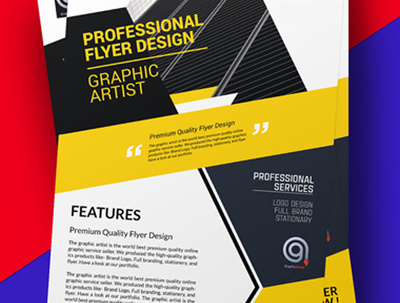 Design  eye-catching professional flyer , poster or leaflet