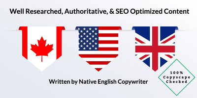 ★ Authoritatively Written SEO Optimized 500 Word Blog Post ★