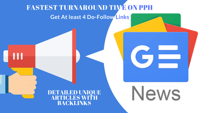 Write & guest Post on five [5] google news approved media sites