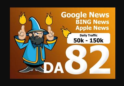 guest post on da 82 google news blog with dofollow link