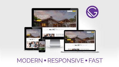 Design Responsive, SEO Friendly & Blazing Fast Website w/ Gatsby