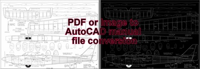 Make editable 2D CAD file in AutoCAD
